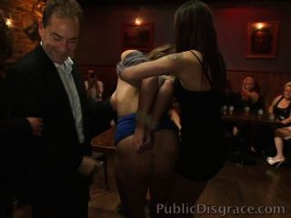 Whores Disgraced And Fucked In A Bar