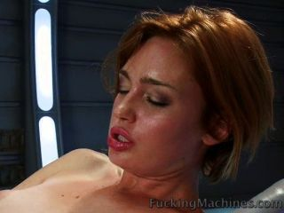 Juicy Dripping Pussy Fucked By Machines