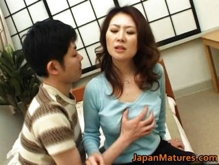 Japanese Mother Enjoys Licking