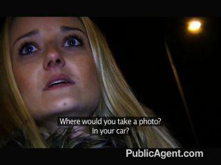 Publicagent - Blonde Fucks Me In A Public