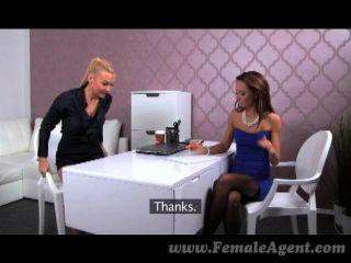 Femaleagent - Sexy Boss Teaches Agent Skills