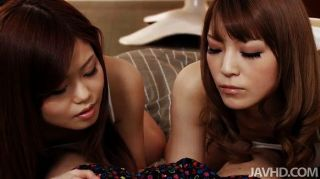 Nao And A Girlfriend Share A Hard Cock