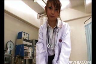 Horny Nurse Ebihara Arisa Gives Her Male Pati