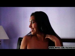 Big-tit Latina Gf Masturbates On Camera