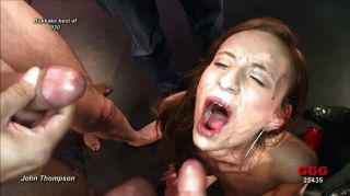Blondes And Brunettes Get Cum Drenched