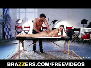 Abbey Brooks Gets Oiled Up