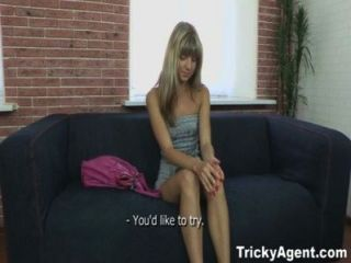 Tricky Agent - Fake Blond Girl Is Hot And Ready To Fuck