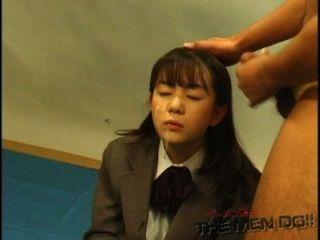 Bukkake Highschool Lesson 11 4/4 Japanese Uncensored Blowjob