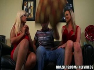 Brazzers - Two Sexy Blondes In A Hot Threesome