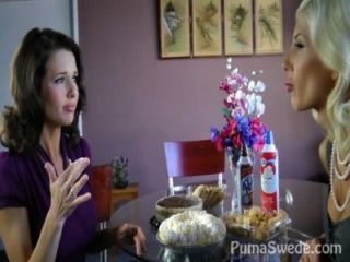Pussy Pie! Busty Puma Swede & Milf Veronica Avluv!