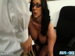 Hot Milf Kendra Lust Ride Cock