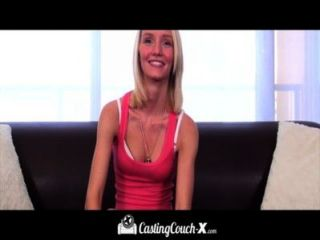 Castingcouch-x Gorgeous Blond Teen Auditions For Porn