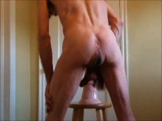 Erect Hard Horse Penis Dildo And Fist In The Ass