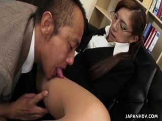 Frail Japanese Slut Munches On A Fat Dick