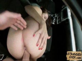 Stranded Teen Babe Fucks For Ride Home Marina Visconti.1.5