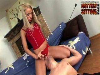 Mistress Olesya Dominates Lucky Guy