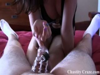 Locked In Chastity Until The Day You Die