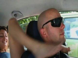 Unp001- Brat Car- Italian Girl Foot Smothering Man- Free Video