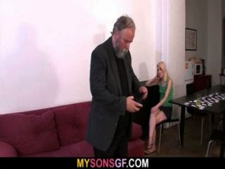 She Gets Punished And Fucked By Geezer