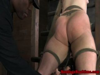 Bounded Bella Rossi Titty Tortured