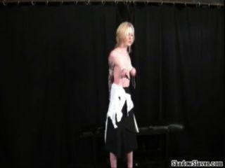 Tit Tormented Blondes Extreme Bdsm And Hardcore Submission Of Tattooed Amateur