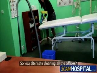 Pervy Doctor Fucks His Cleaning Lady