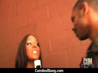 Ebony Girl Gets Slammed By Some White Dudes 28