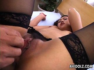 Delicate Japanese Teen Receives A Hard Cock