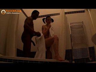 Interracial Amateur Teen Couple Makes Video