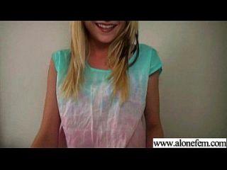 Alone Horny Girl Love Sex Toys For Masturbation Clip-06