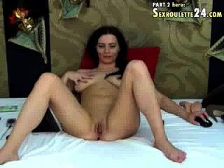 Incredible Sasha In Web Cam Couples Do Phenomenal On Her With C