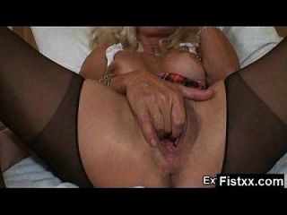 Alluring Fisting Gal Nude And Wild