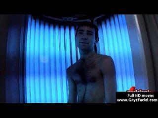 Bukkake Gay Boys - Nasty Bareback Facial Cumshot Parties 27