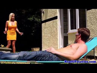 Scottish Housewife Fucks Black Cock Outdoors