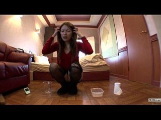 Subtitled Japanese Gyaru Countdown To Pee With A Fart In Hd
