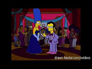 Simpsons Porn - Marge And Artie Afterparty