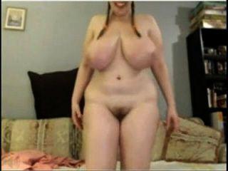Www.sexroulette24.com - Huge Webcam Tits 17