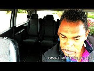 Black Taxi Driver Fucks Young Teen