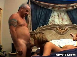 Grandpa Loves Fucking A Blonde Teen