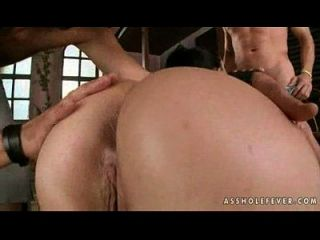 Liza Del Sierra - Ass In The Barn, Cock In The Ass! - Xvideo