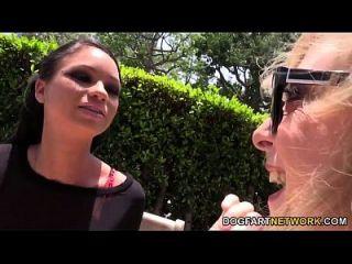 Raven Bay And Nina Hartley Teach A Guy A Lesson