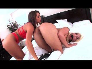 Leya Falcon Fucked By Abigail Mac
