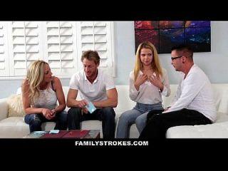 Familystrokes - Family Game Night Orgy