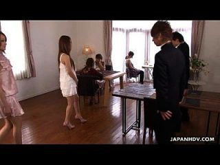 Cute Asian Glam Babe Getting Her Raw Massage