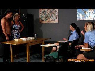 Cfnm Sex Education From The Teacher For Eager Girls