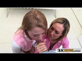 Big Tit Mom Brandi Love Teaching Sex Lesson To Teen Zoey Monroe