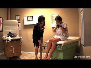 Sexy Doctors Visit With Capri Cavanni
