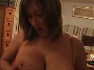 Dirty Talking British Wife Sucks Fucks Then Takes A Facial