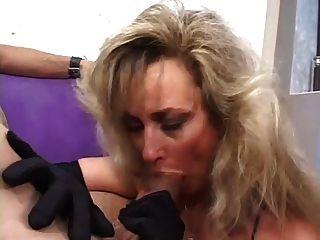 Hot Cougar Anjelica Fox Smoking Blowjob