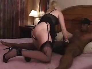 Real Blonde Wife Takes Black Schlong For Hubby And Camera! Great Commentary! Watch Read Comment!